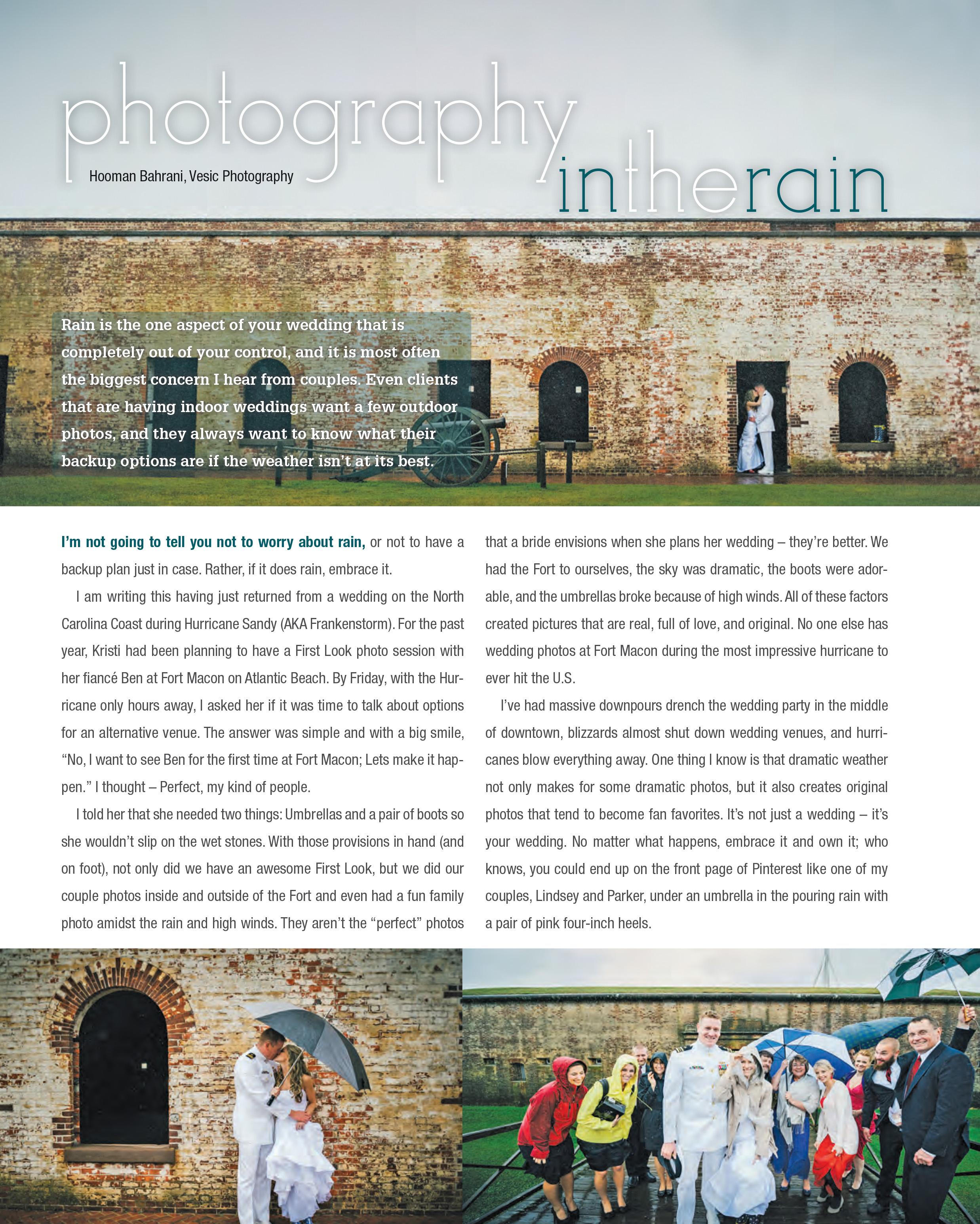 Rain On Your Wedding Day: Rain On Your Wedding Day