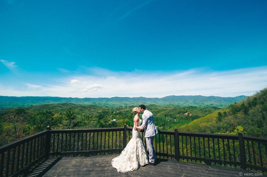 Destination Wedding North Carolina Mountains At Hawkesdene