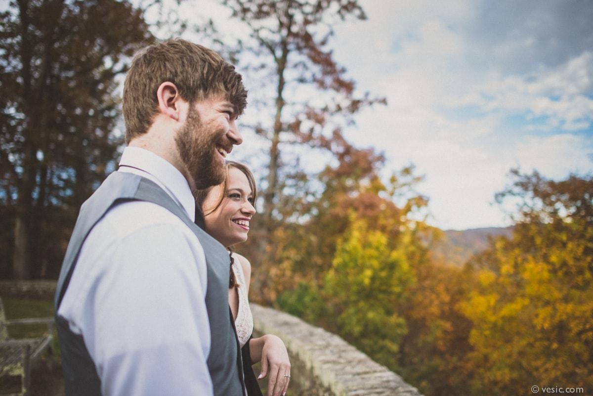 Wedding At Blowing Rock Near Boone Nc