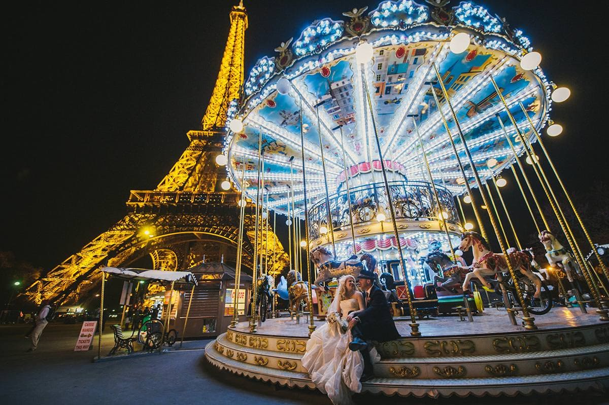 Wedding Paris France