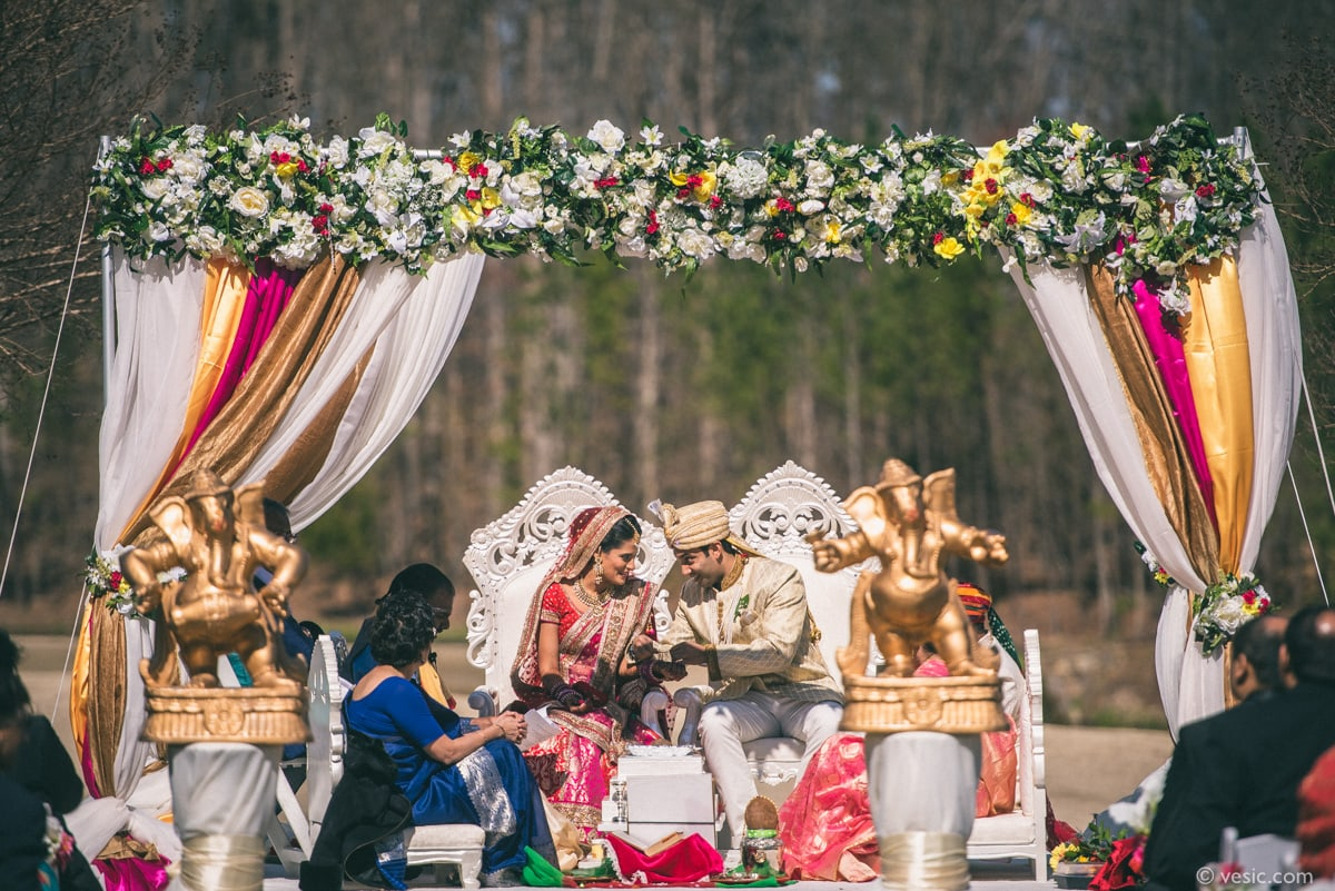 Indian Wedding North Carolina-30