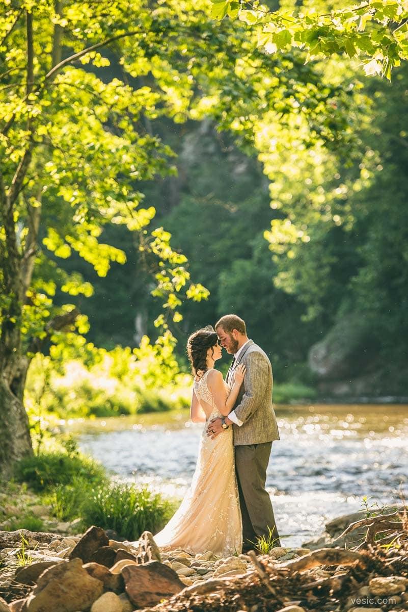mountain wedding photography boone nc vesic photography