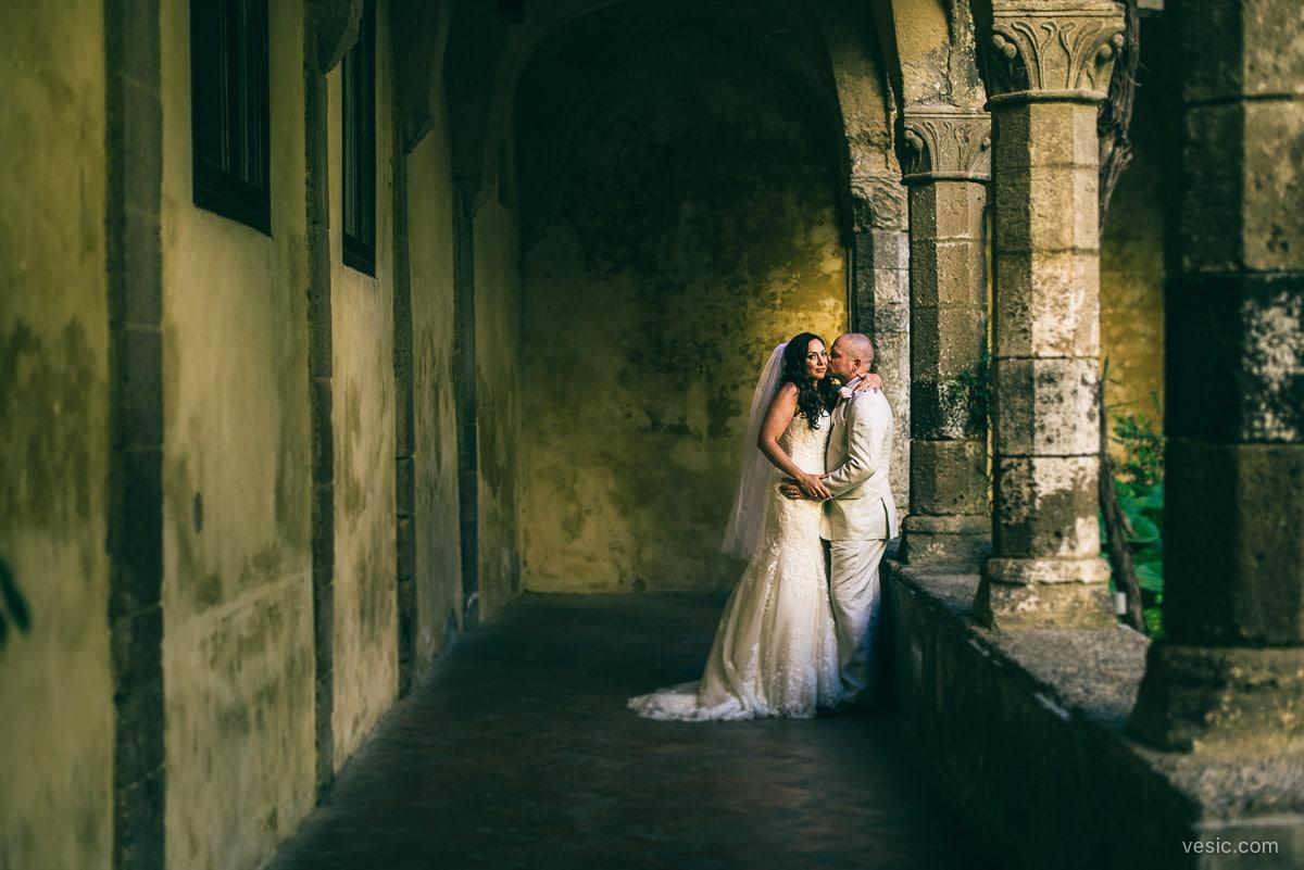 destination wedding cloisters sorrento italy