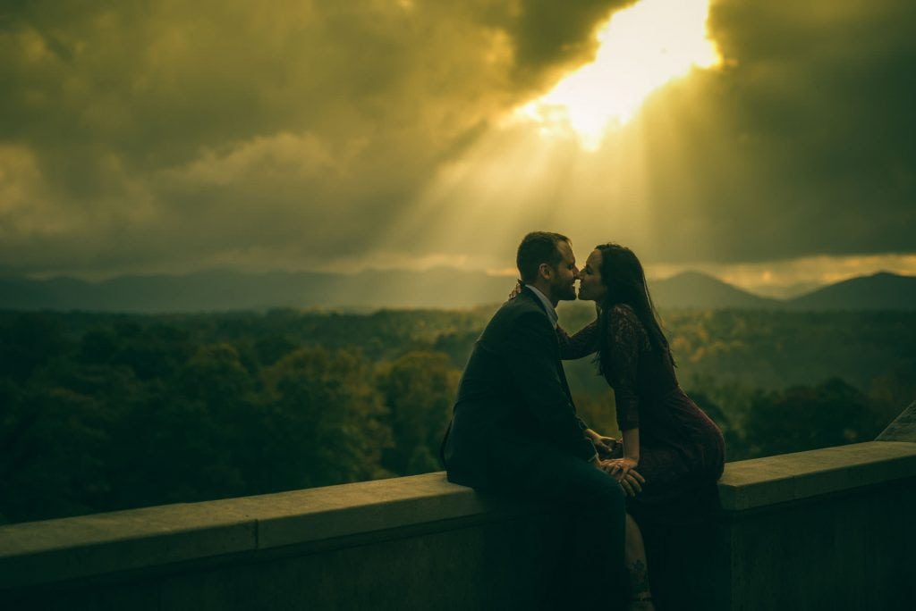Asheville Biltmore Engagement
