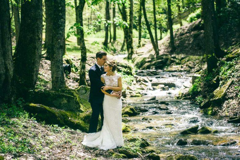 Asheville Wedding Couple