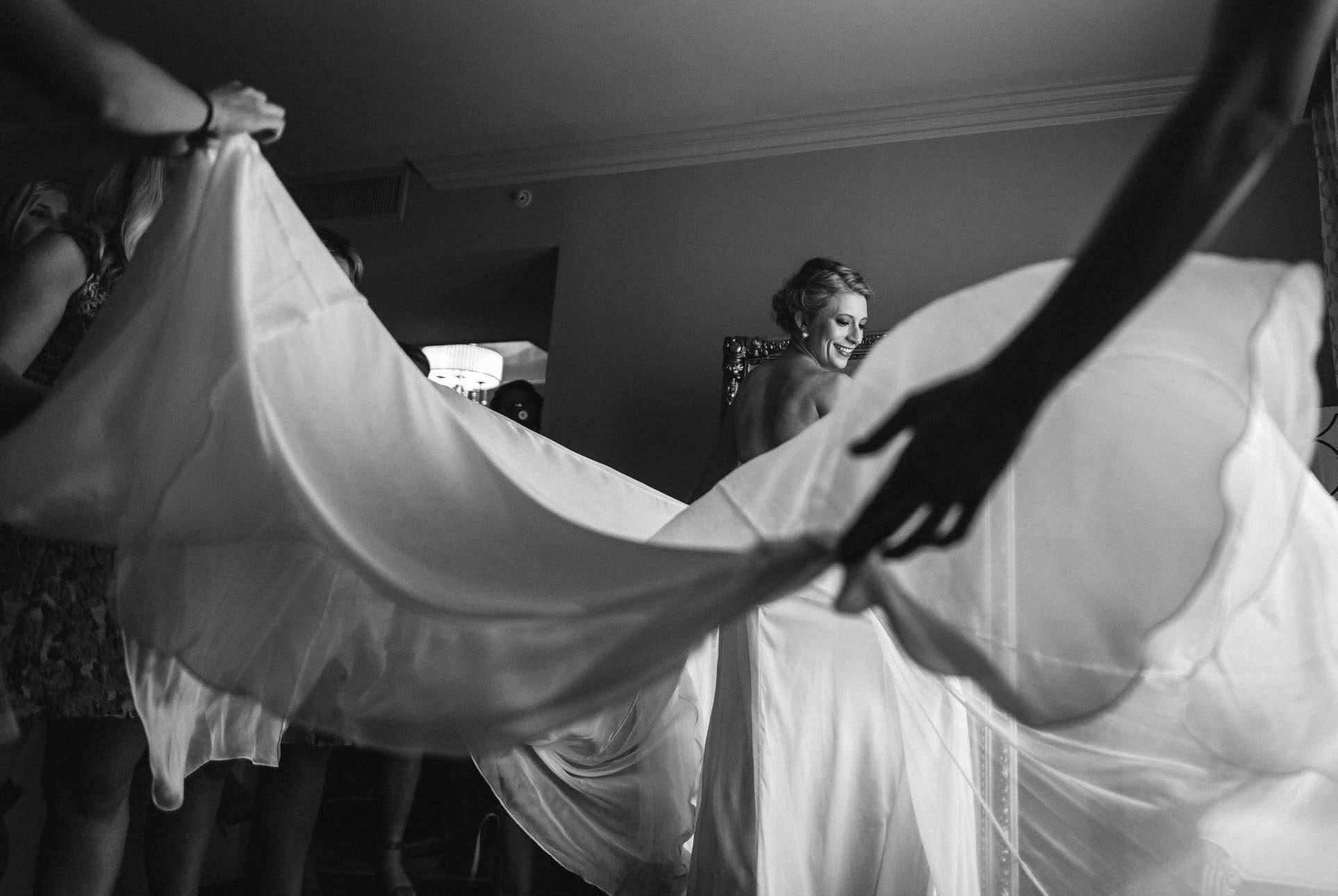 Bride's Wedding Dress