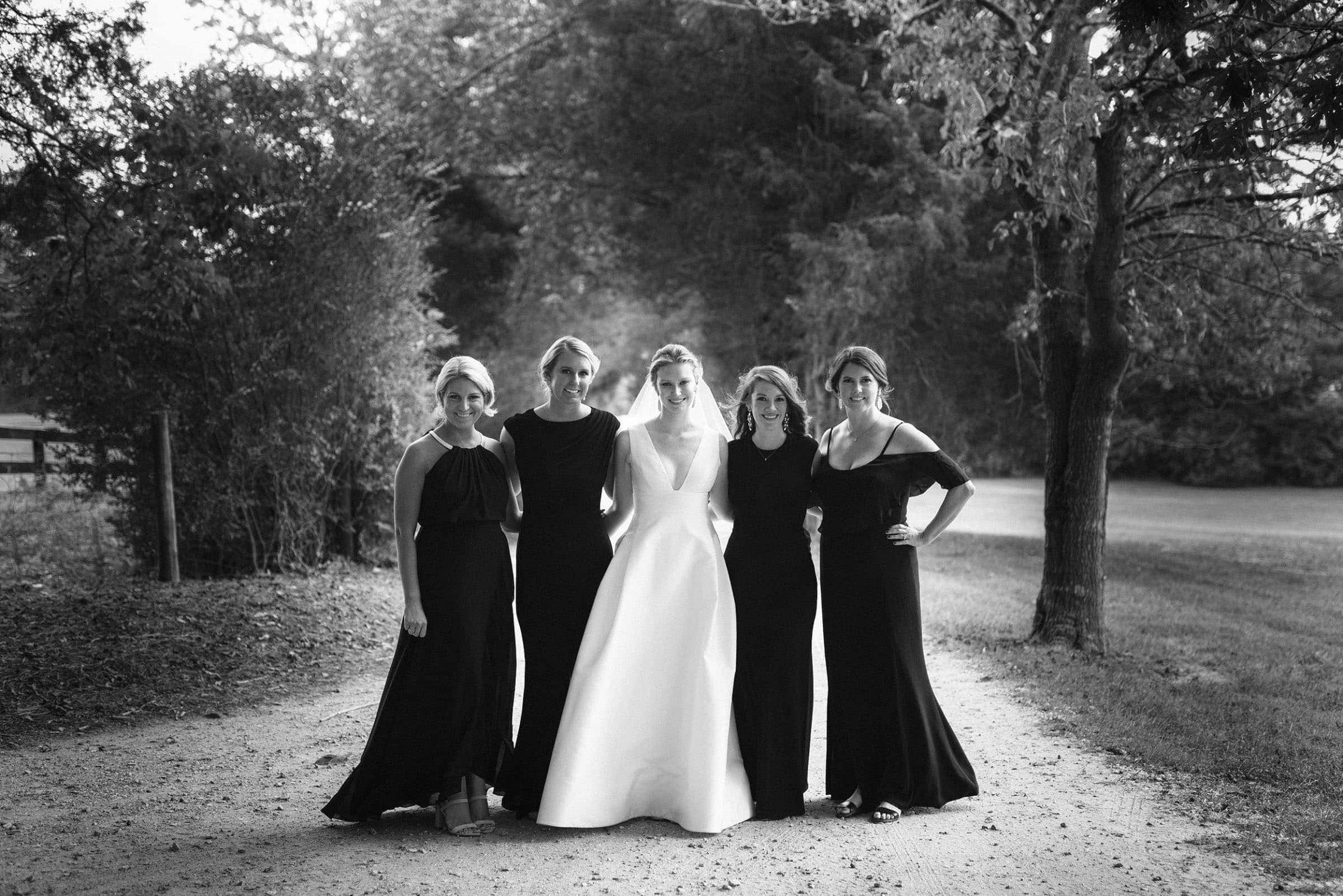 Bridesmaids-Black-White