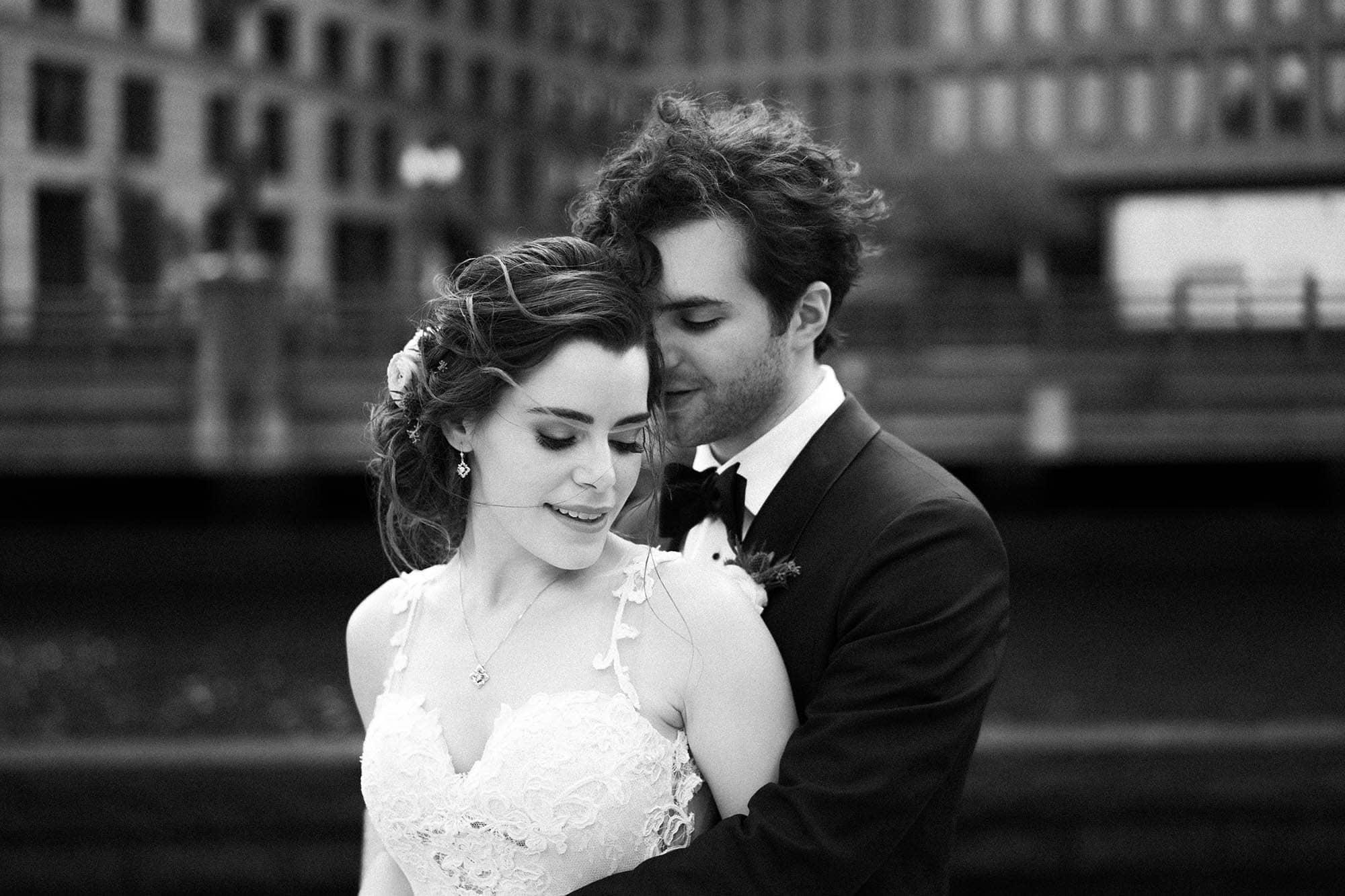 Providence wedding couple