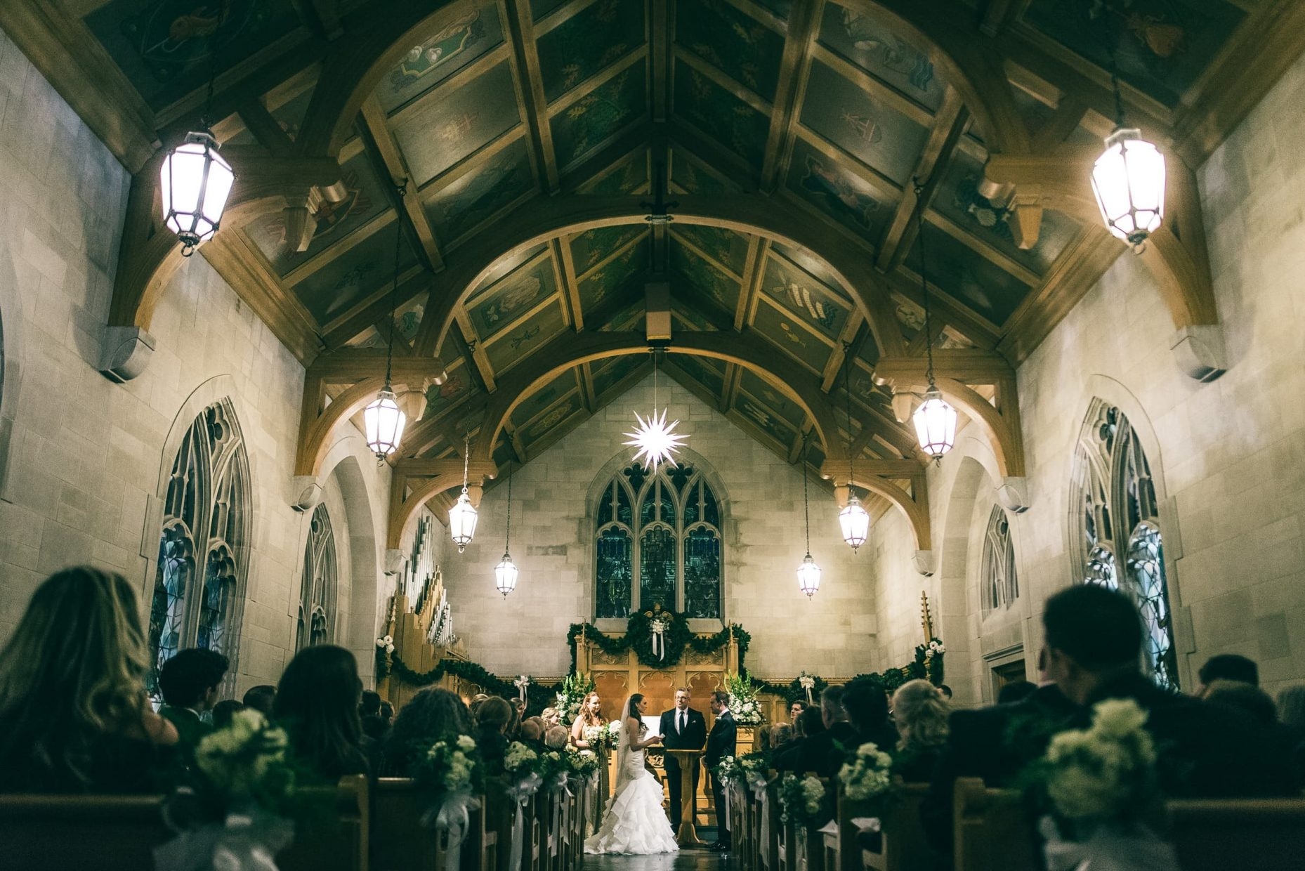 Winston Salem Church Wedding Ceremony