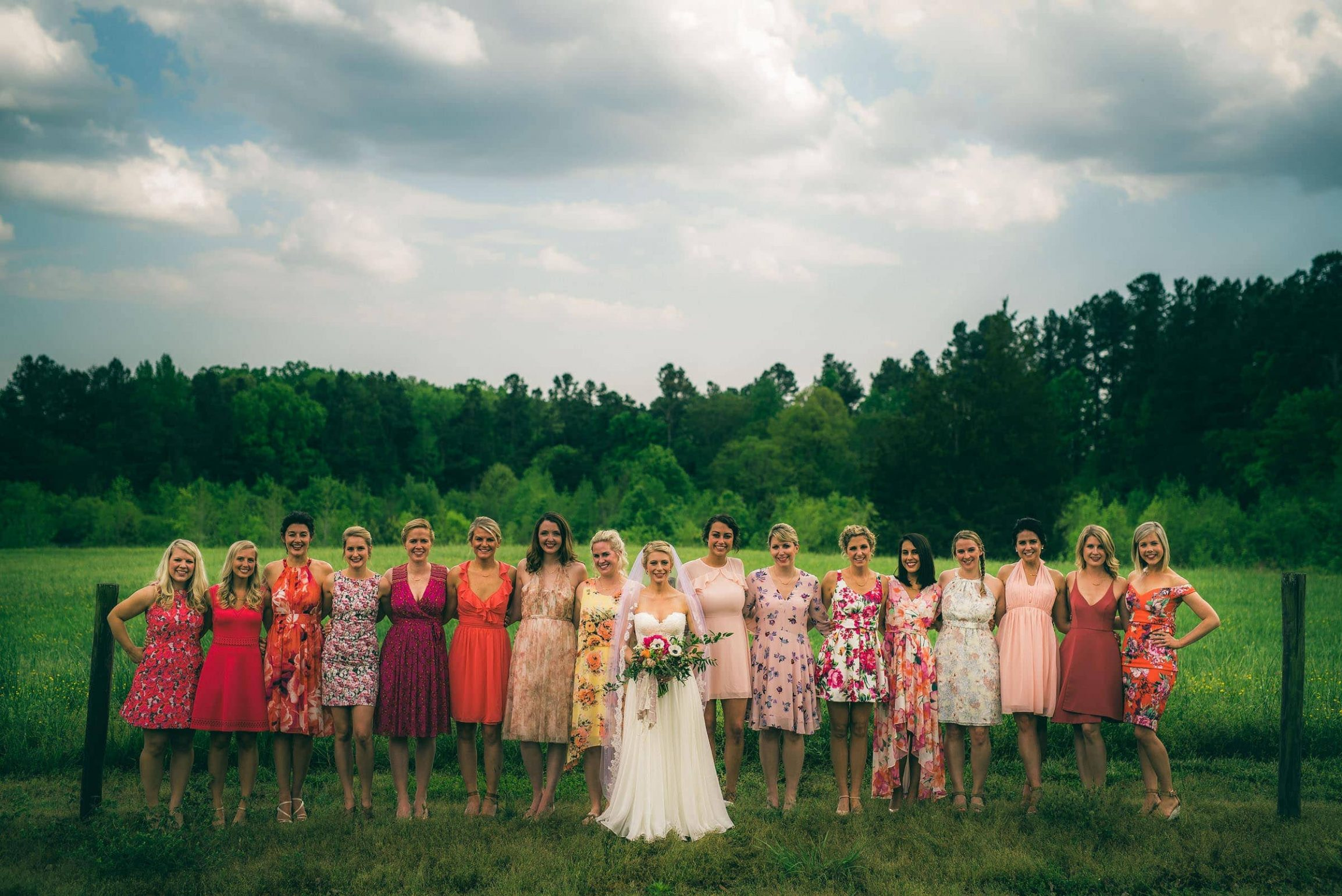Colorful-Bridesmaids