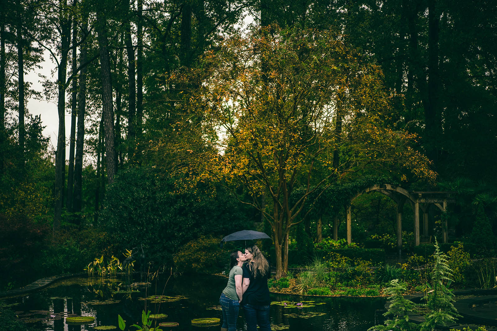 Duke-Gardens-Engagement-Photo