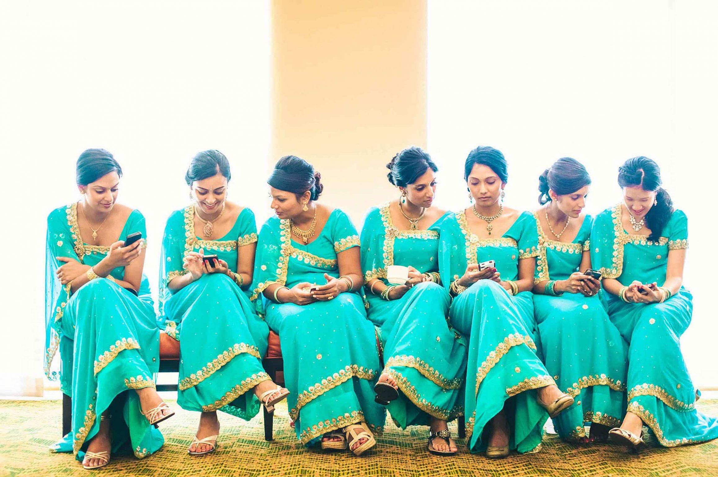 Indian-Bridesmaids-iPhone