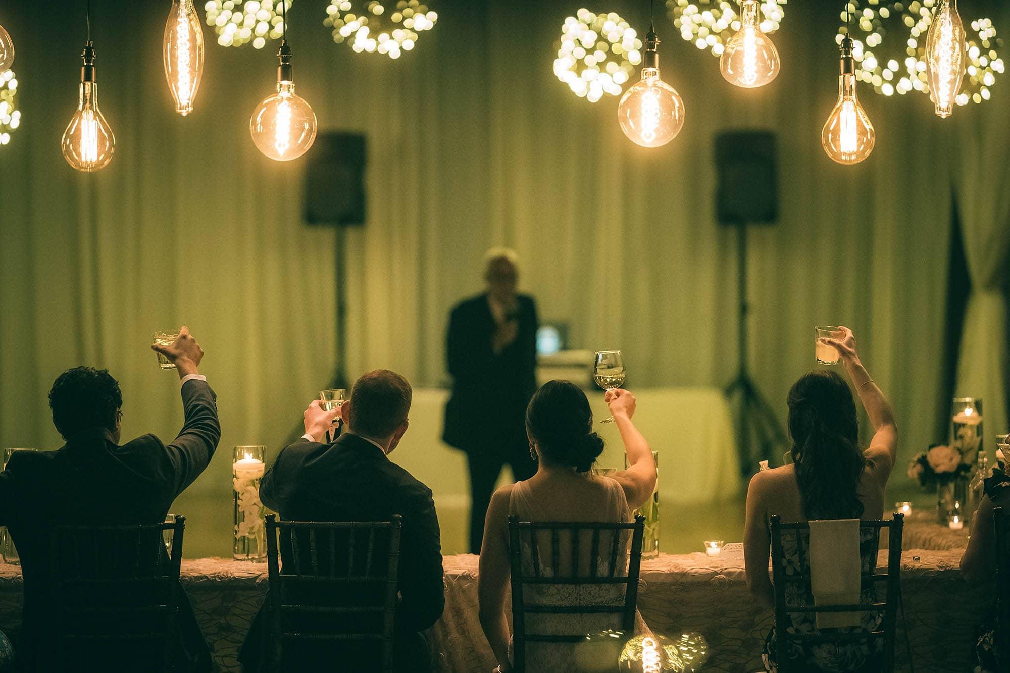 wedding toast durham