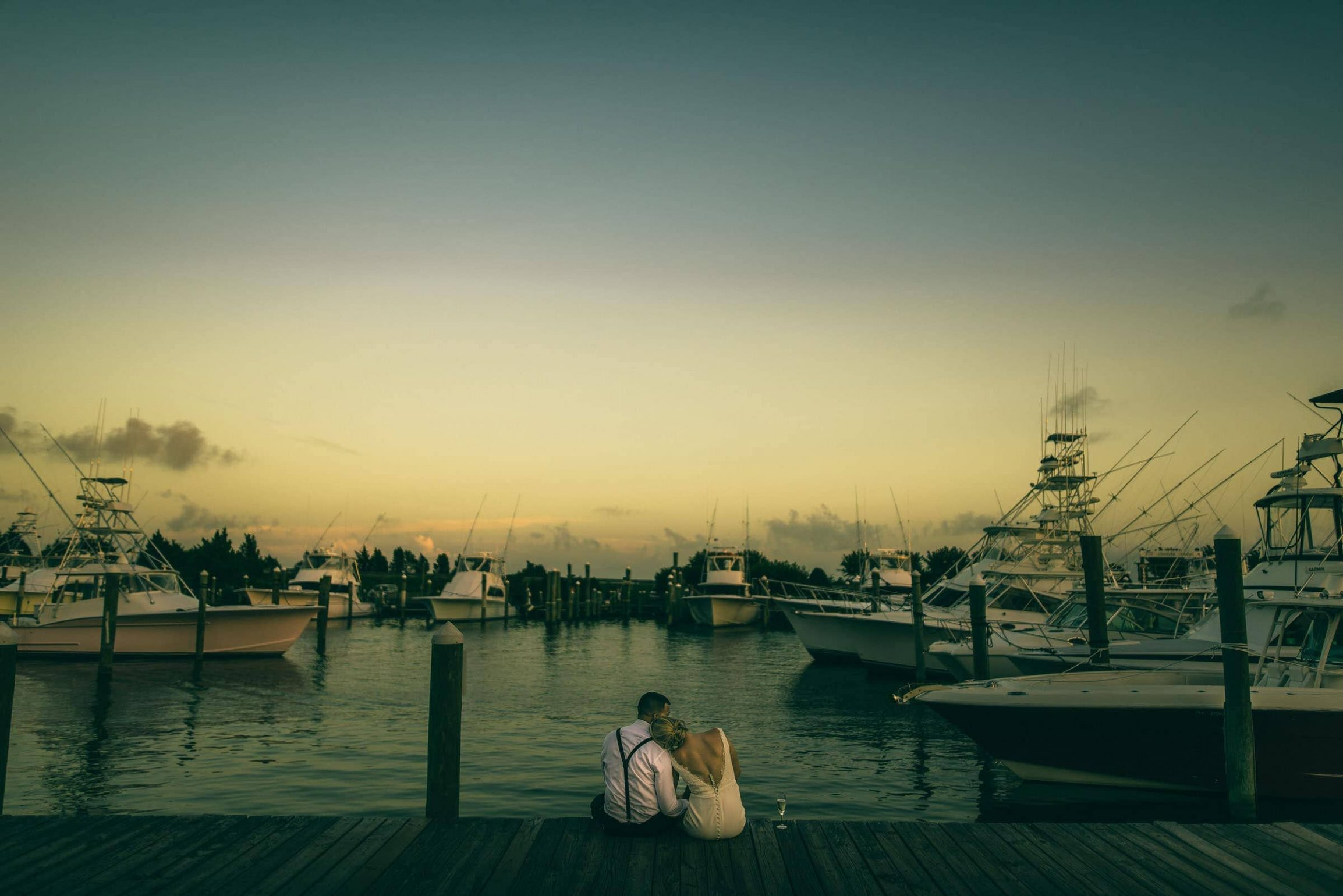 Outer Banks Sunset Wedding