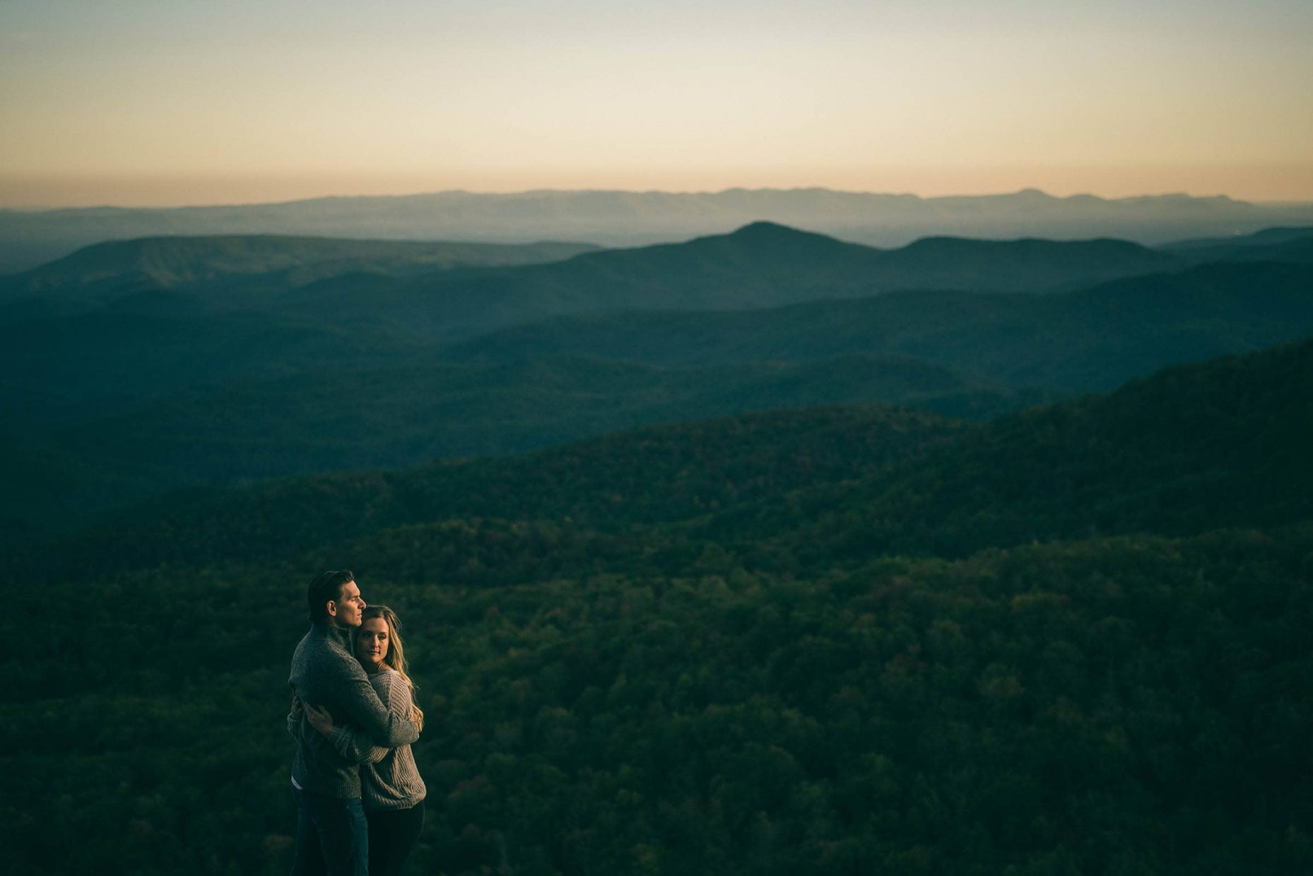 Boone Engagement Sunset