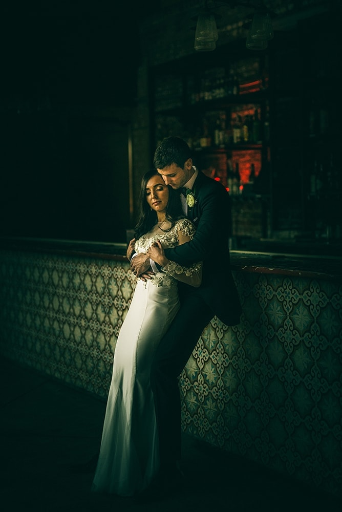 Raleigh Wedding Couple